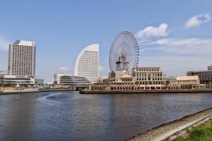 Cosmo Clock 21 และโรงแรม InterContinental Hotel Yokohama Grand