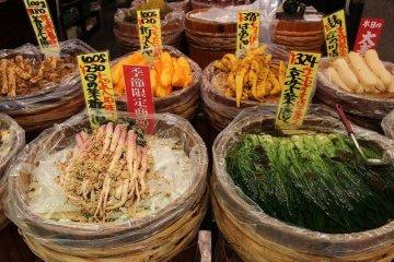 京都「錦市場」ぶらぶら
