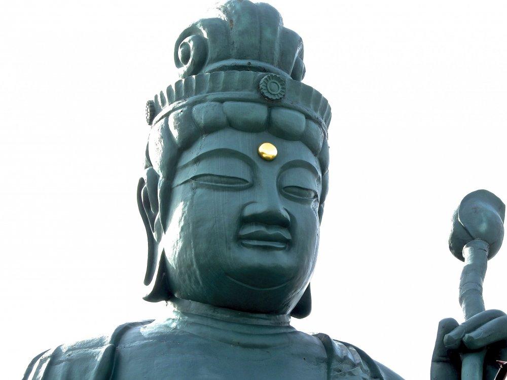 Cận cảnh Fukui Daibutsu đẹp trai (Tượng Đại Phật của Fukui)