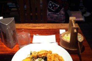Overcooked tempura