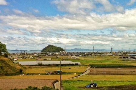 카시마후타미의 밀짚 로프
