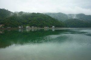 Shioya Bay in Ogimi, northern Okinawa