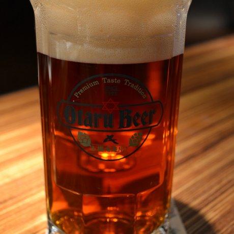Otaru Beer's Leibspeise in Sapporo