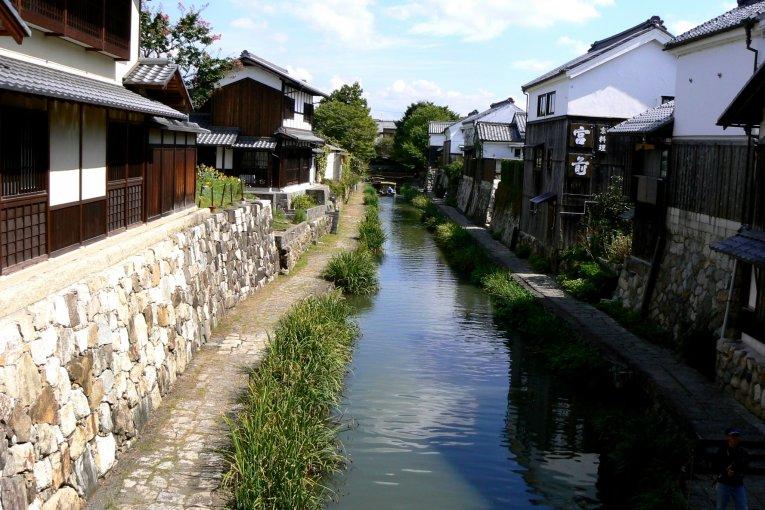 Mùa hè trên kênh Omihachiman