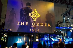 The Order: 1886 at the Sony booth