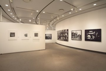 Photography gallery at the Yokohama Museum of Art