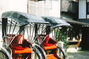 """becak"" atau alat transportasi tradisional di Jepang"