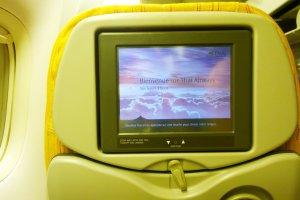 Personal Entertainmen Program กับจอทีวีส่วนตัวทุกที่นั่งที่จะทำให้คุณเพลิดเพลินกับความบันเทิงจนลืมเวลาบิน