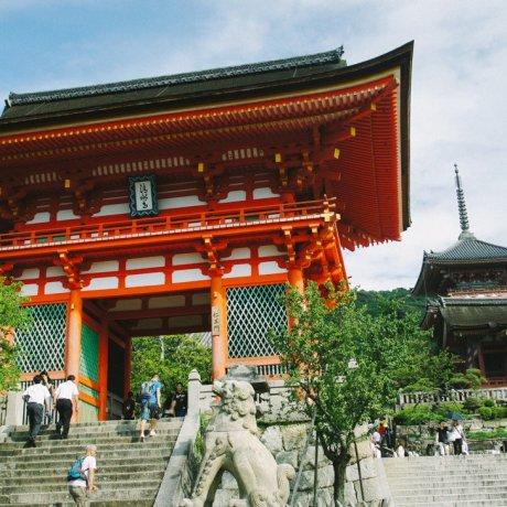 Kiyomizu-dera di Kyoto