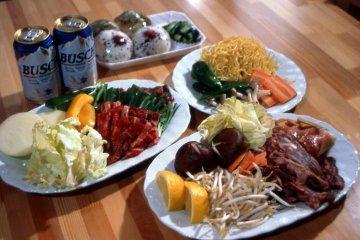 Delicious food at Green Valley Hakuba