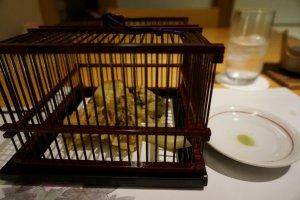 tempura สารพัดเห็ดจิ้มเกลือชาเขียว อร่อยไม่น่าเชื่อ