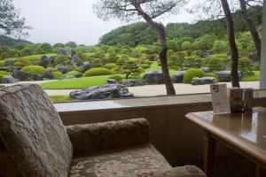 Sit in front of this most exquisite of Japanese gardens