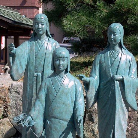 Kuil Tiga Saudari Sengoku, Fukui