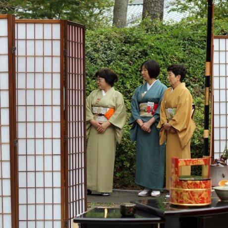พิธีชงชาในโตเกียว