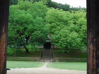 Gateway to Shizutani School, Bizen City, Okayama