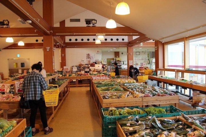 福井「アグリらんど喜ね舎」で地野菜を買う