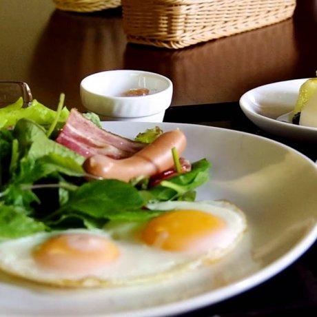 星のや 軽井沢 レストランとルームサービス