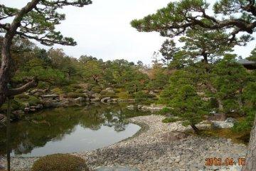 Yuushien pebble beach