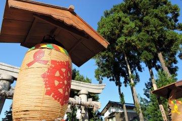 福井フェニックス通り沿い: 麻気神社