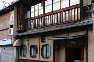 祇園町南側の町屋