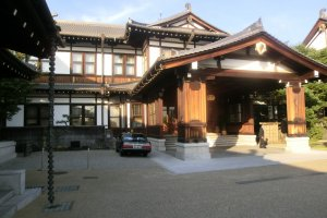 Main entrance of Nara Hotel