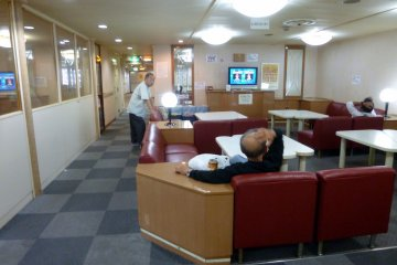 <p>One of a number of lounges.</p>