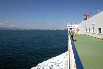 <p>View of shore in Tomakomai, Hokkaido.</p>