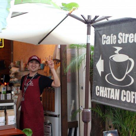 Chatan Coffee Cafe In Naha, Okinawa