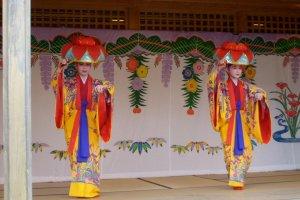 Traditional Ryukyuan dance