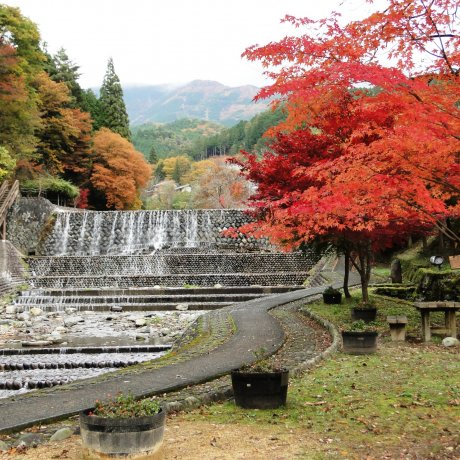 Gero Onsen di Musim Gugur