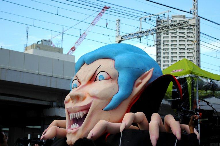 Cuộc diễu hành Halloween ở Kawasaki