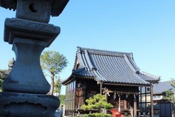 福井舟橋「黒龍神社」