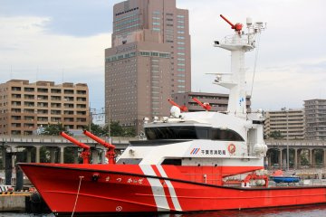 <p>The Chiba Fire Department Boat played a huge role during the March 11, 2011 earthquake and tsunami.</p>