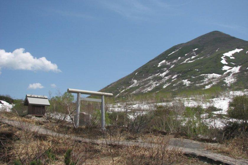 露天風呂からの絶景アンヌプリ