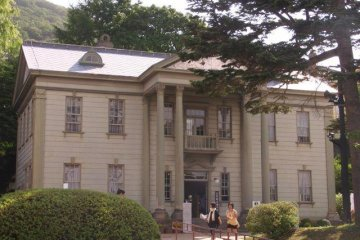 The first British Consulate in Japan (now a very nice Tea Room)