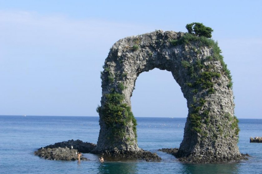 The most famous sight in Okushiri