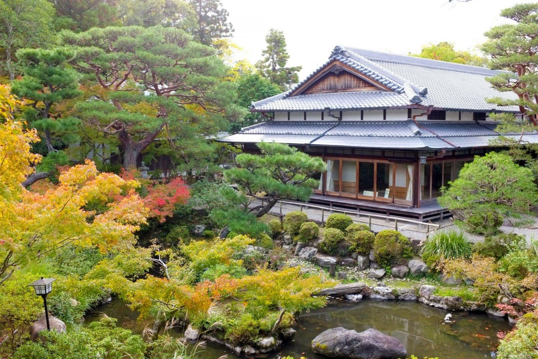 The beautiful Yoshikien Garden