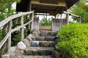 Sube las escaleras y disfruta de la vista
