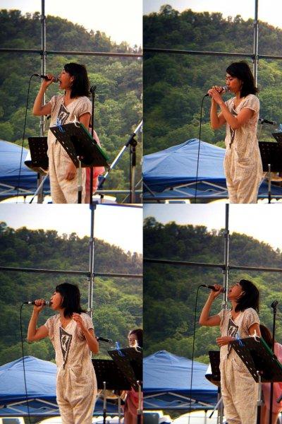 Ua does her thang at Live Earth Matsuyama
