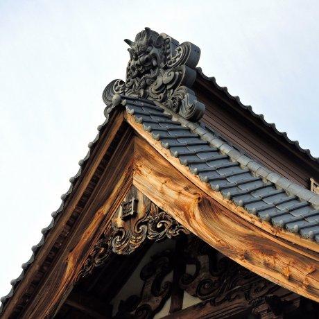 Myoten-ji Temple in Ono, Fukui