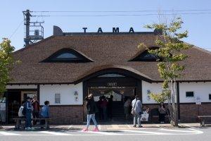 และนี่ก็คือสถานีแมวเหมียวสถานี Kishi สถานีสุดท้ายปลายทางอันเป็นที่อยู่ของนายสถานีทามะนั่นเอง