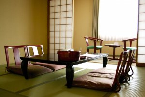 A Japanese-style room in Hotel Wellness Yokoteji