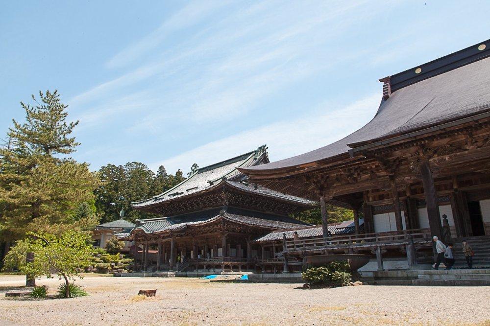 Toàn cảnh đền Betsuin-Zuisenji
