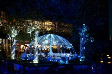 Illuminations de Noël à Harajuku