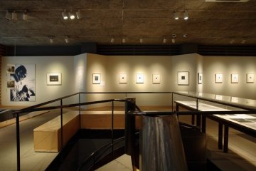 The first floor exhibition room