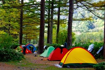 카파바시 주변 캠핑장