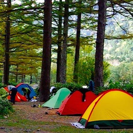 Camping Site near Kappa-bashi