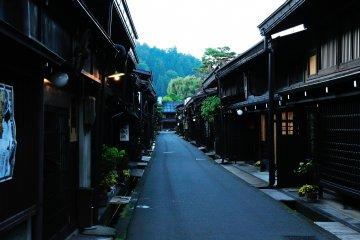 Старинные улочки города Такаяма