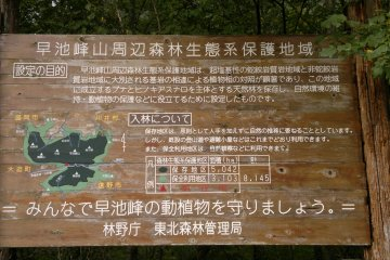 <p>The sign near the parking lot</p>