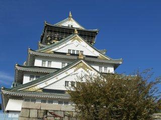 The beautiful Osaka Castle